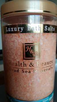 HEALTH & BEAUTY - Luxury bath salts - Dead sea minerals