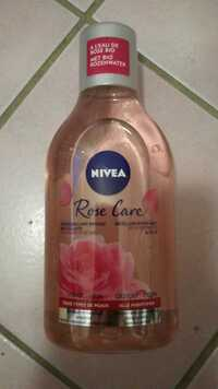NIVEA - Rose care - Démaquillant biphase micellaire bio