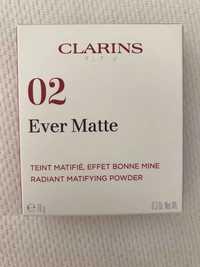 Clarins - 02 Ever Matte - Teint matifié effet bonne mine