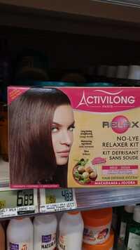 ACTIVILONG - Relax - Kit defrisant sans soude