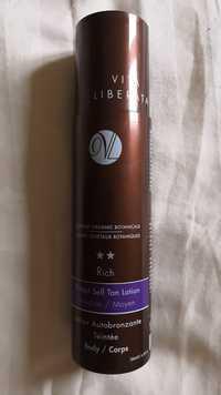 VITA LIBERATA - Rich - Lotion autobronzante teintée