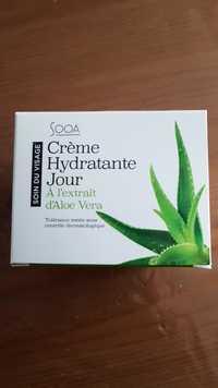 SOOA - Crème hydratante jour à l'extrait d'aloé vera