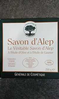 SAVON D'ALEP - Le véritable savon d'Alep