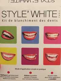 Style'White - Kit de blanchiment des dents