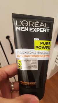 L'Oréal - Men expert - Pure power tägliche kohle-reinigung 5 in 1