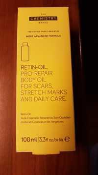The chemistry brand - Retin-oil - Huile corporelle réparatrice