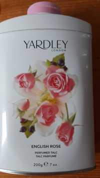 YARDLEY LONDON - English rose - Talc parfumé
