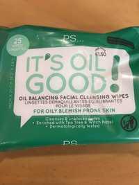 Primark - It's oil good! - Lingettes démaquillantes équilibrantes pour le visage