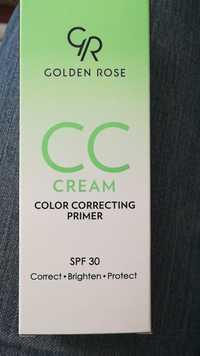 GOLDEN ROSE - CC cream - Color correcting primer - Spf 30