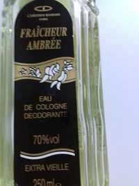 CHRISTINE DARVIN - Fraîcheur ambrée - Eau de cologne déodorante