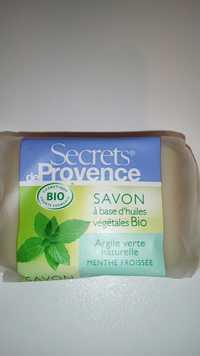 Secrets de Provence - Menthe froissée - Savon