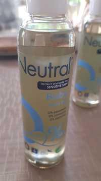 Neutral - Baby skin oil