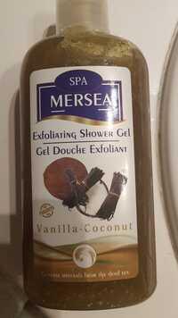 MERSEA DEAD SEA - Vanilla coconut - Gel douche exfoliant