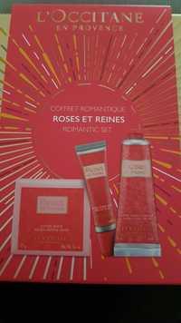 L'OCCITANE - Roses et reines - Coffret romantique