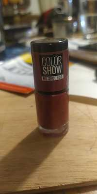 Maybelline - Color show 60 seconds - 20 blush berry - Vernis à ongles