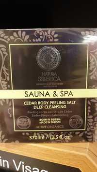 NATURA SIBERICA - Sauna & spa - Peeling corps aux sels de cèdre