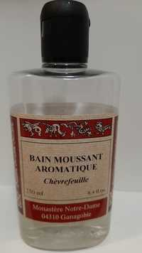 MONASTÈRE NOTRE-DAME - Chèvrefeuille - Bain moussant aromatique