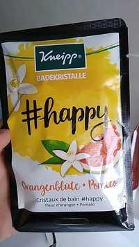 Kneipp - Happy - Cristaux de bain fleur d'oranger