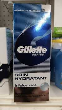 GILLETTE - Soin hydratant à l'aloe vera - Après rasage
