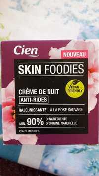 CIEN - Skin foodies anti-rides - Crème de nuit