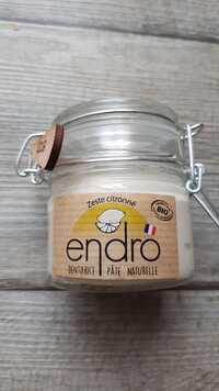 ENDRO - Zeste citronné - Dentifrice pâte naturelle