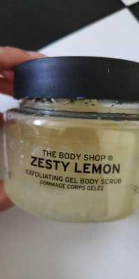 THE BODY SHOP - Zesty lemon - Gommage corps gelée
