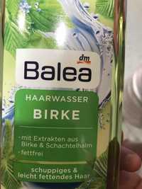 BALEA - Birke - Haarwasser