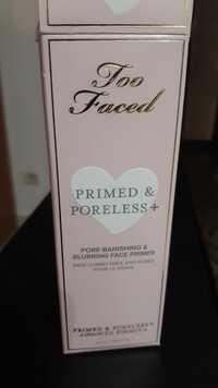 TOO FACED - Primed & poreless+ - Base correctrice anti-pores pour le visage