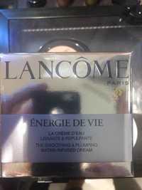 Lancôme - Énergie de vie - La crème d'eau lissante & repulpante