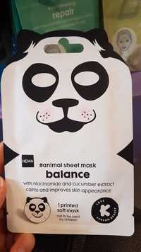 Hema - Balance - Animal sheet mask