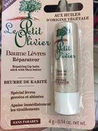 LE PETIT OLIVIER - Baume lèvres réparateur beurre de karité