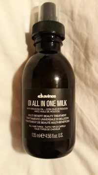DAVINES - OI All in one milk - Traitement de beauté multi-bénéfices - Tous types de cheveux