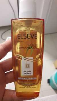 L'Oréal - Elseve - Huile extraordinaire coco