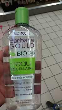 Barbara gould - L'eau Micellaire bio