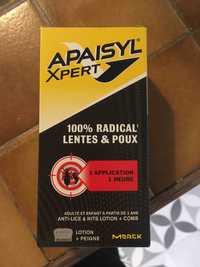 Merck - Apaisyl Xpert - 100% radical lentes & poux
