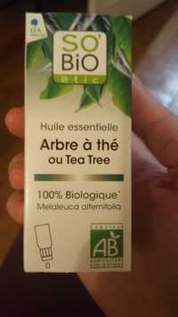 SO'BIO ÉTIC - Arbre à thé - Huile essentielle