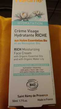 FLORAME - Crème visage hydratante riche