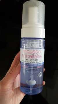 EVOLUDERM - Mousse micellaire - Nettoyante