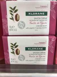 KLORANE - Savon crème - Feuille de Figuier