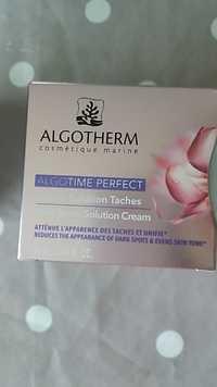 Algotherm - Algotime perfect - Crème solution tâches