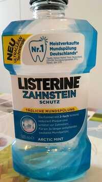 Listerine - Arctic mint - zahnstein schutz mundspülung