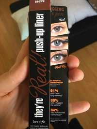 BENEFIT - They're real! Push-up liner brown