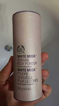 THE BODY SHOP - White musk - Poudre sensuelle pour le corps