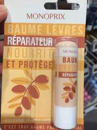 Monoprix - Baume lèvres réparateur