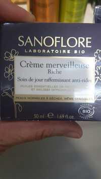 SANOFLORE - Crème merveilleuse riche