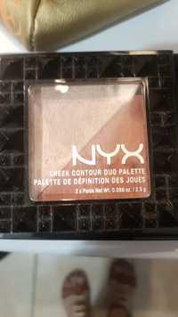 Nyx cosmetics - Palette de définition des joues
