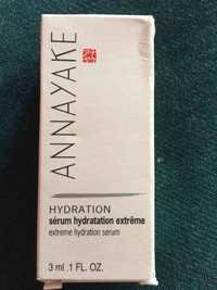 ANNAYAKE - Sérum hydratation exrtême