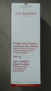 Clarins - Fluide anti-taches - Jeunesse des mains SPF 15