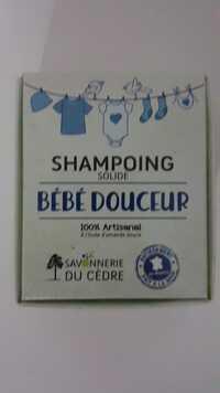 Savonnerie du Cèdre - Bébé douceur - Shampooing solide