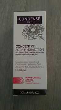 CONDENSÉ - Concentre - Actif hydratation, sérum